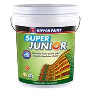 สีน้ำภายใน สีพีช NIPPON PAINT SUPER JUNIOR รุ่น 9119