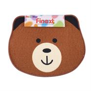 พรมโพลีอะคริลิค FINEXT รุ่น 2H23-BL 40x60 ซม. ลายหมี