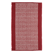 พรมโพลีสังเคราะห์ FINEXT รุ่น HL-973R 43x68 ซม. สีแดง
