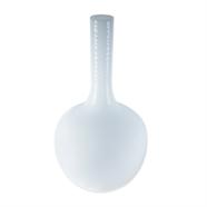 แจกันแก้ว 16 นิ้ว สีขาว OEM รุ่น 230175/L