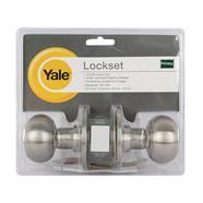 YALE ลูกบิดประตูห้องน้ำสแตนเลส รุ่น KN-VTT5222US32D
