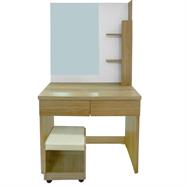 โต๊ะเครื่องแป้ง OEM รุ่น D6186/C6W 60 ซม. สีเชอร์รี่