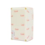กล่องพลาสติกกันน้ำ สีขาว