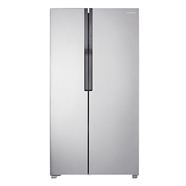 SAMSUNG ตู้เย็น SIDE BY SIDE 20.6 คิว รุ่น RS552NRUASL/ST สีเทา
