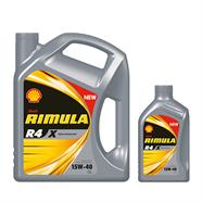 SHELL น้ำมันเครื่อง รุ่น Rimula R3X/4 15W40 6L ฟรี 1L