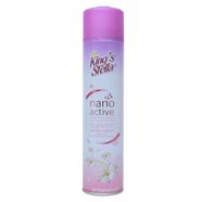 KING STELLA สเปรย์ปรับอากาศ นาโน ลาย กลิ่น White Sak300 ml.