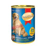 อาหารสุนัข SMART HEART  รสเนื้อวัวและตับ