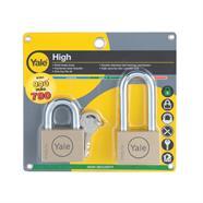 YALE กุญแจคีย์อะไลท์ 50 มม. รุ่น BD50SS-50LSP2