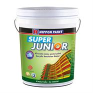 สีน้ำภายใน-ด้าน สีเขียวอ่อน NIPPON PAINT SUPER JUNIORรุ่น 9120