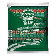 MOCCONA กาแฟ 3in1 เอสเปรสโซ่ 18 กรัม (1 แพค 100 ชิ้น)