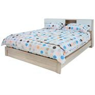 เตียงนอน OEM รุ่น B1986/C6W 6 ฟุต สีเชอร์รี่