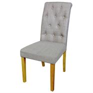 FINEXT เก้าอี้ผ้าโมเดิร์น รุ่น DO-6243-1 KD สีน้ำตาล
