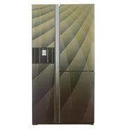 HITACHI ตู้เย็น SIDE BY SIDE 21.1Q รุ่น R-M600AGP4THXDIA สีน้ำตาล
