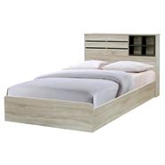 เตียงนอน 3.5 ฟุต รุ่น BR-22 สีพรีเมียร์โอ๊ค