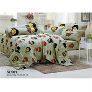 TULIP ผ้าห่มนวม ลายซุปเปอร์แมน 90x100 นิ้ว รุ่น SL-501 สีเทา
