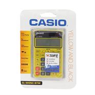 CASIO เครื่องคิดเลข 3 นิ้ว 8 หลัก รุ่น SL-300NC-BY
