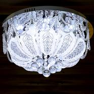 VANEZZA โคมไฟถาดคริสตัล LED 50 ซม. สีม่วง รุ่น 2778
