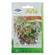 CHIATAI เมล็ดพันธุ์ผักสลัดเรดโอ๊ควีนัส