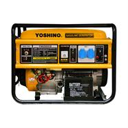 YOSHINO เครื่องปั่นไฟ 5.5 กิโลวัตต์ สีเหลือง รุ่น YN6500EB