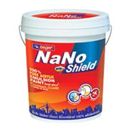 สีน้ำกึ่งเงา 5 แกนลอน สีควันบุหรี่ NANO PROSHIELD รุ่น 9004