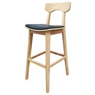 HOFF เก้าอี้บาร์หนัง รุ่น SDD-2525 สีดำ