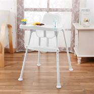 NUBU เก้าอี้ทานข้าวเด็กทรงสูง สีขาว