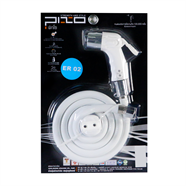 PIXO ชุดสายฉีดชำระ PVC รุ่น ER02 สีขาว