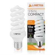 LAMPTAN หลอดประหยัดไฟ รุ่น SPIRAL สีวอร์มไวท์ (WARM WHITE)