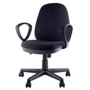 FINEXT เก้าอี้สำนักงานผ้า รุ่น H-3206F สีดำ