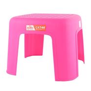 เก้าอี้พลาสติกแม่บ้าน สีชมพู ลีลาวดี รุ่น J226