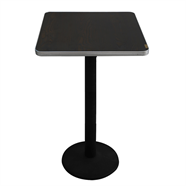 FINEXT โต๊ะอาหารไม้โมเดิร์น 60 ซม. รุ่น E-008-2 สีน้ำตาล