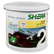 สีทาไม้พื้น 1/4 แกนลอน สีสักทราย SHERA รุ่น DF-1404G
