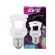 EVE หลอดประหยัดไฟ รุ่น MINI-X-FIRE  สีเดย์ไลท์ (DAY LIGHT)