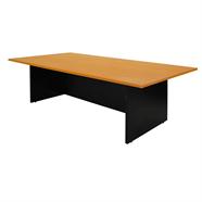 TAIYO โต๊ะประชุมไม้ 2.40 เมตร รุ่น 4CF240 สีเชอร์รี่